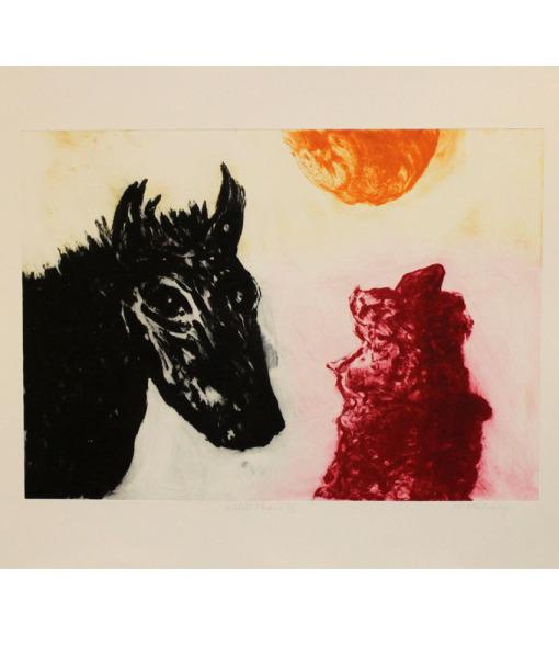 Michael-Mulchay_Wilde-Horse-II_AP-Carborundum-Print_