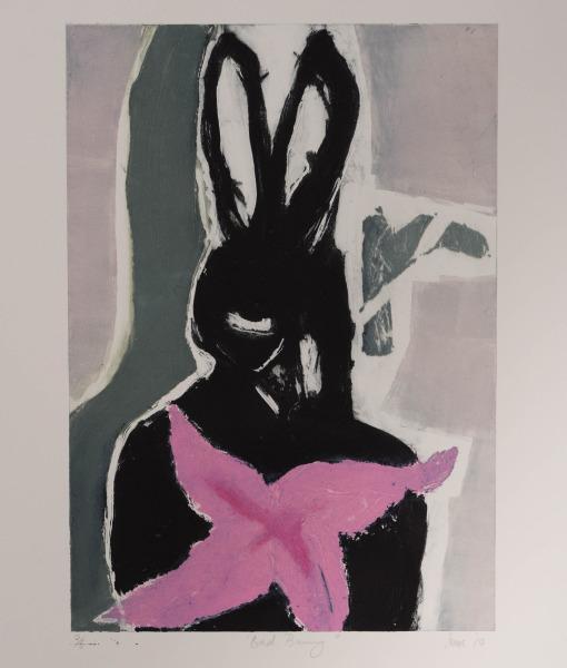 Suzy O Mullane _Bad Bunny_ carborundum of 6 paper70.5x54image42x29.5 (1)